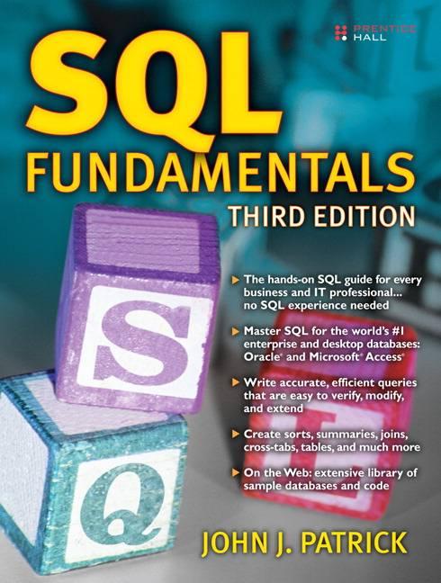 SQL Fundamentals By Patrick, John J.