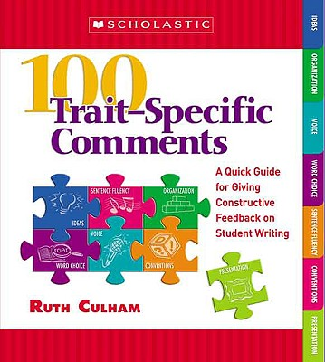 100 Trait++specific Comments By Culham, Ruth